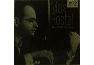 Max Rostal - Milestones Of A Violin Legend - (CD)