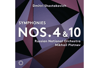 Russian National Orchestra - Sinfonien 4+10 - (SACD Hybrid)