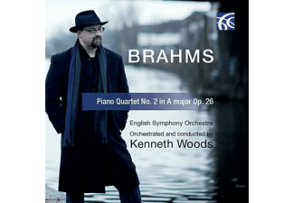 Kenneth/english Symphony Orchestra Woods - Klavierquartett 2 in A-Dur,op.26 - (CD)
