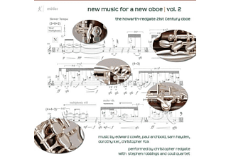 Christopher/coull Quartet/+ Redgate - New Music For A New Oboe | Vol.2 - (CD)