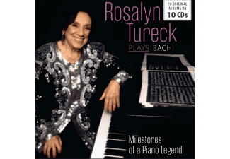 Rosalyn Tureck - Plays Bach - (CD)