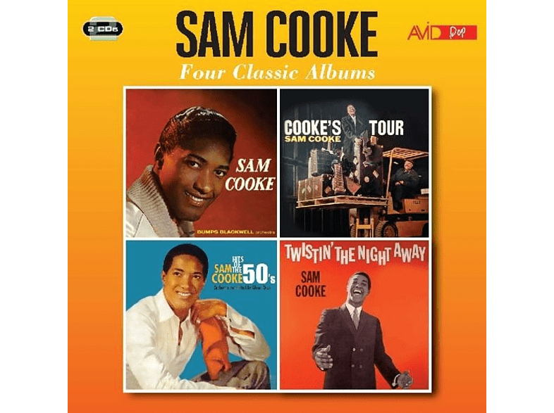 Sam Cooke - Four Classic Albums [CD]