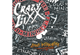 Crazy Lixx - Loud Minority (2LP Gatefold/Red/180 Gramm) - (Vinyl)
