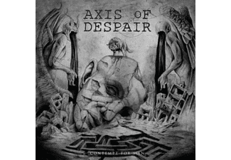 Axis Of Despair - Contempt For Man - (CD)