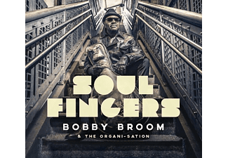 Bobby Broom - Soul Fingers - (CD)
