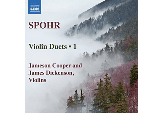 Cooper,Jameson/Dickenson,James - Violinduette Vol.1 - (CD)