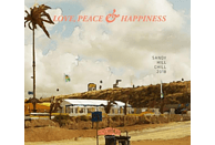 VARIOUS - Sandy Hill Chill 2018-Love,Peace & Happiness [CD]