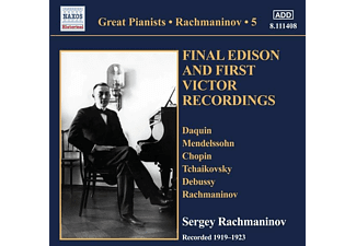 Sergei Vasilievich Rachmaninoff - Solo Piano Recordings Vol.5 - (CD)