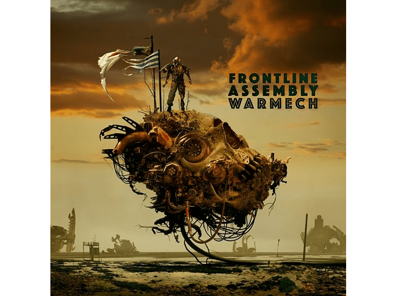 Front Line Assembly - Warmech (Grease Colored Vinyl) [Vinyl]