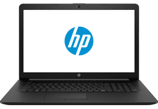 HP 17-BY0320NG, Notebook mit 17.3 Zoll Display, Core™ i3 Prozessor, 8 GB RAM, 1 TB HDD, Radeon™ 520, Jet Black
