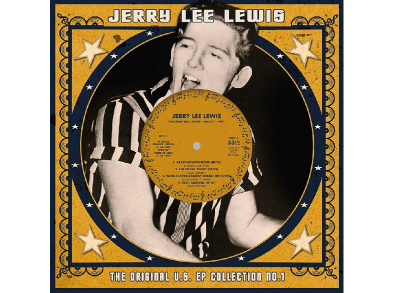 Jerry Lee Lewis - US EP Collection 1 (10 inch/weisses Vinyl) [Vinyl]