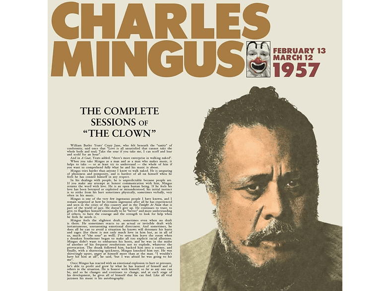 Charles Mingus - The Complete Sessions Of The Clown [Vinyl]