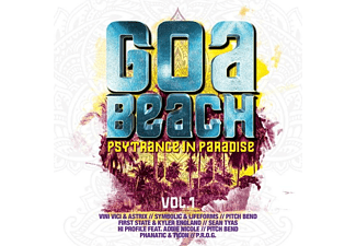 VARIOUS - Goa Beach Vol.1-Psytrance In - (CD)