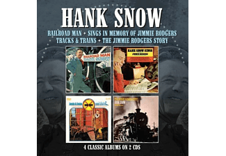 Hank Snow - Railroad Man/Sings...(4 Classic Albums On 2CDs) - (CD)