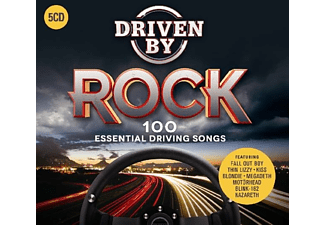 VARIOUS - Driven By Rock - (CD)