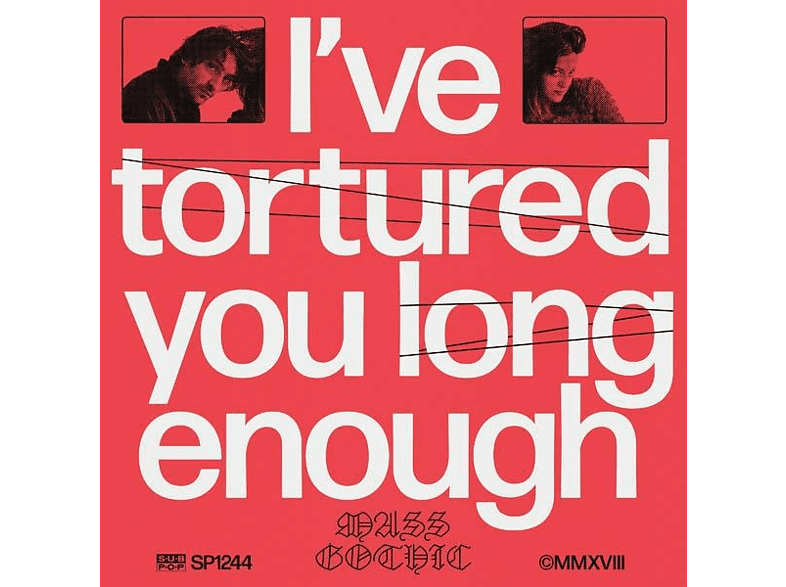 Mass Gothic - I've Tortured You Long Enough [CD]