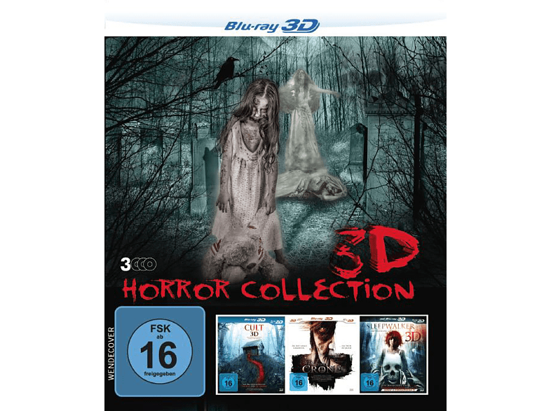 3D Horror Collection - Box [3D Blu-ray]