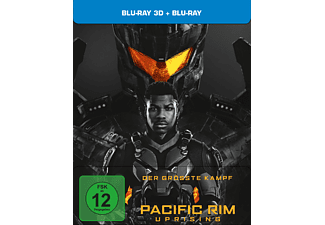 Pacific Rim: Uprising - Exklusives Steelbook - (3D Blu-ray (+2D))