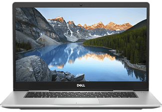 DELL INSPIRON 15 7570 I7, Notebook mit 15.6 Zoll Display, Core™ i7 Prozessor, 16 GB RAM, 512 GB SSD, GeForce MX130, Platinum Silver