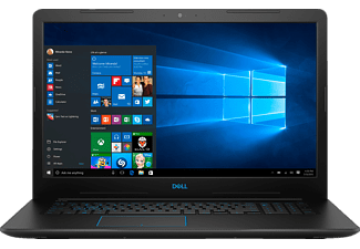 DELL G3 17 3779 I5, Gaming Notebook mit 17.3 Zoll Display, Core™ i5 Prozessor, 8 GB RAM, 128 GB SSD, 1 TB HDD, GeForce® GTX 1050, Schwarz