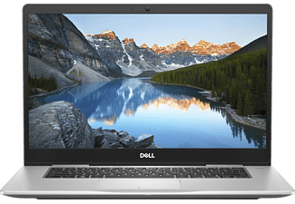 DELL INSPIRON 15 7570 I5, Notebook mit 15.6 Zoll Display, Core™ i5 Prozessor, 8 GB RAM, 256 GB SSD, GeForce MX130, Platinum Silver