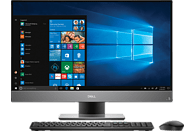DELL INSPIRON AIO 7777 I7, All-In-One-PC, Core™ i7 Prozessor, 256 GB SSD, 1 TB HDD, GeForce® GTX 1050, Silber