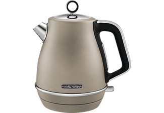MORPHY RICHARDS 104403 Evoke, Wasserkocher, Platin