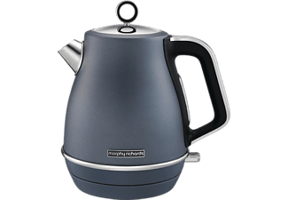 MORPHY RICHARDS 104402 Evoke, Wasserkocher, Steel Blue