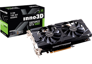 INNO3D GEFORCE GTX 1060 3GB X2( NVIDIA, Grafikkarte)