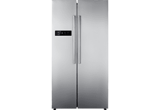 COMFEE Side by Side SBS 527.1 NFA+, A+, 1788 mm hoch, 895 mm breit, Front Inox