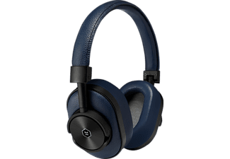 MASTER & DYNAMIC MW60, Over-ear Bluetooth Over-Ear Kopfhörer, Headsetfunktion, Bluetooth, Navy/Schwarz