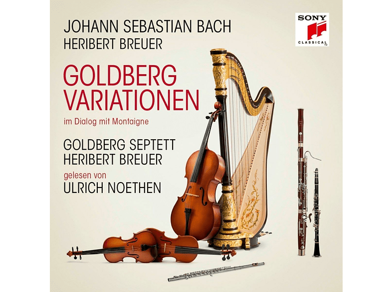 Heribert Breuer, Goldberg Septett, Ulrich  Noethen - Goldberg Variationen (mit Lesung) [CD]