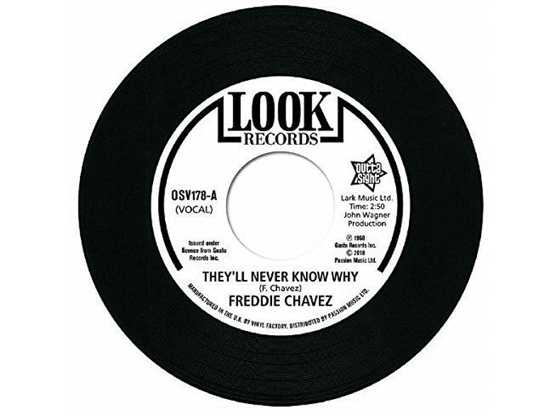 Freddie Chavez - They'll Never Know Why / Make Up (Vinyl Single) [Vinyl]