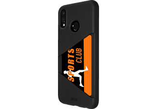 TPU Card Case Backcover Huawei P 20 Lite Thermoplastisches Polyurethan Schwarz