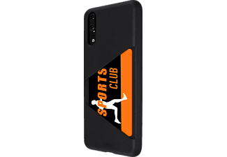 ARTWIZZ TPU Card Case Backcover , Huawei, P 20, Thermoplastisches Polyurethan, Schwarz