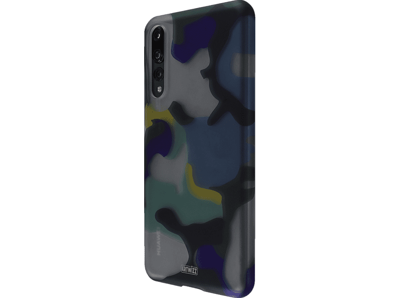 CamouflageClip Backcover Huawei P 20 Pro Polycarbonat Ocean | 04260598440305