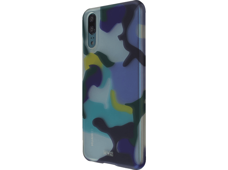 CamouflageClip Backcover Huawei P 20 Polycarbonat Ocean | 04260598440152