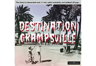 VARIOUS - Destination Crampsville - (CD)