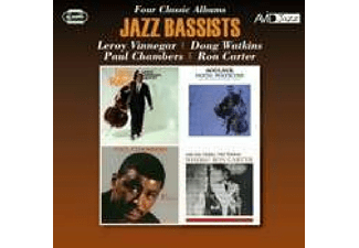 VARIOUS - Jazz Bassists-Four Classic Albums - (CD)