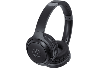 AUDIO-TECHNICA ATH-S200BTBK, On-ear Kopfhörer, Headsetfunktion, Bluetooth, Schwarz