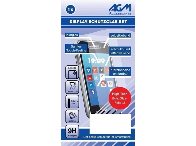 AGM  27215 Displayschutz (Samsung Galaxy A8 (2018)) | 04026436272152