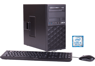 HYRICAN PROBUSINESS CTS00503, Desktop PC mit Core™ i5 Prozessor, 16 GB RAM, 500 GB SSD, GeForce® GTX 1070 Ti, 8 GB GDDR5 Grafikspeicher