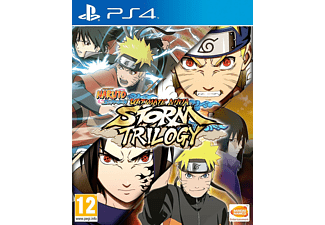 PS4 Naruto Shippuden: Ultimate Ninja Storm Trilogy