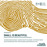 Solistenensemble Der Tiroler Barockinstrumentalisten - Small Is Beautiful - Barocke Orchestermusik Für Kammerensemble [CD]