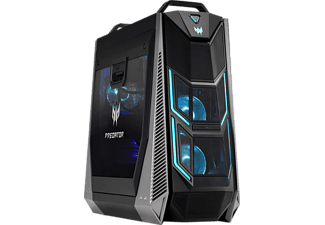 ACER Predator Orion 9000, Gaming PC mit Core™ i9 Prozessor, 16 GB RAM, 256 GB SSD, 1 TB HDD, GeForce® GTX 1080, 8 GB