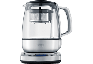 SAGE STM800BSS4EEU1 The Tea Maker, Teekocher, Silber/Transparent