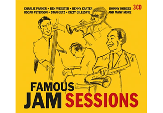 VARIOUS - Famous Jam Sessions - (CD)