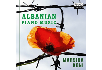 Marsida Koni - Albanian Piano Music - (CD)