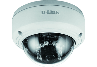 D-LINK PoE Dome Vigilance Full HD, IP Camera, 1920 x 1080, Weiß
