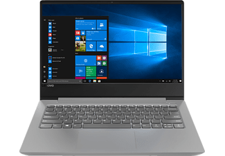 LENOVO IdeaPad 330S, Notebook mit 14 cm Display, Core i3 Prozessor, 4 GB RAM, 128 GB SSD, HD-Grafik 620, Platinum Grey